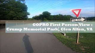 GoPro FPV (First Person View) | Walk in the Park | General Sheppard Crump Memorial Park |