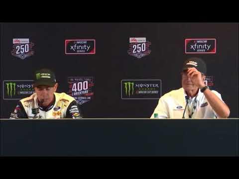 2018 NASCAR Brickyard 400 post-race Q&A