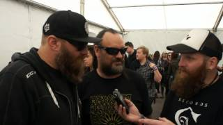 36 Crazy Fists Download Festival Interview 2015