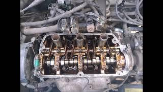 Ashok Leyland 1616 engine valve clearance adjustment - hmong video