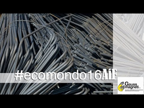 Separatori magnetici per rottami ferrosi e non ferrosi - Gauss Magneti