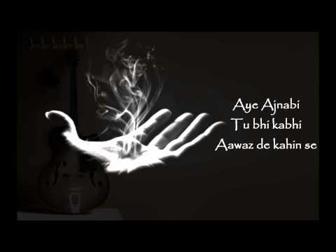 Aye Ajnabi - Dil Se  Cover by Shamshad Alam