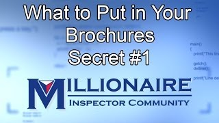 What to Put in Your Brochures Secret #1