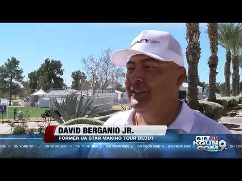 David Berganio making Champions Tour debut