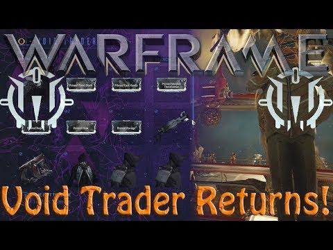 Warframe - Void Traders Returned! 115th Rotation
