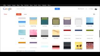 Creating a Google Site - Sites Tutorial 1 of 5