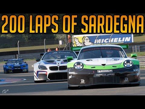 Gran Turismo Sport: 200 Laps of Sardegna Endurance Race