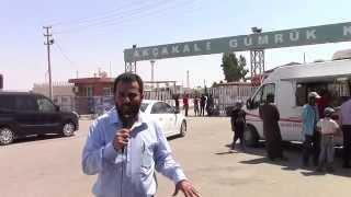 ...أكشا قلعة ( تل أبيض التركية): معاناة مهجري مدينة تل أبيض السورية .عرضت على قناة الجزيرة مباشر.