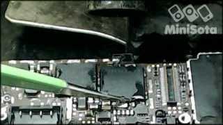 Ремонт iPhone 4 (модемный процессор и flash)