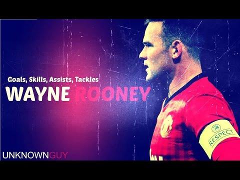Wayne Rooney ● Goals, Skills, Assists, Tackles ● Manchester United & England ▶ 2015 -- HD