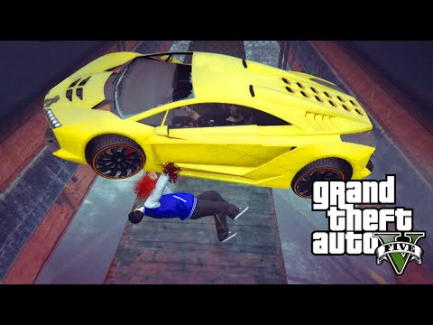 GTA 5 Online PC | RUNNERS Vs CARS | GTA 5 Funny Moments