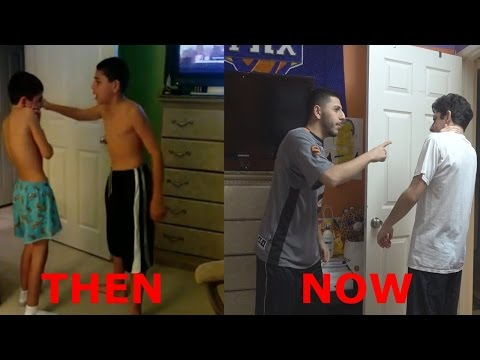 REENACTING OUR OLD YOUTUBE SHOW!! (8 YEARS AGO)