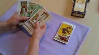 Starting with a new tarot card deck