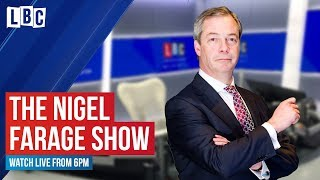 The Nigel Farage Show: is there a quick fix to bring down crime? | watch live on LBC