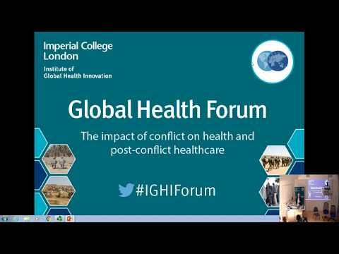 The impact of conflict in healthcare   Imperial News