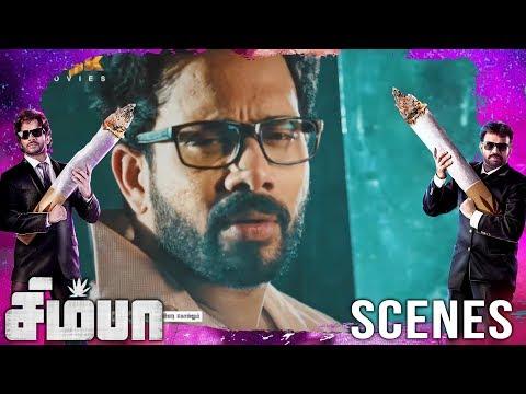 Mahesh got car accident | Simba(சிம்பா) Movie Scenes | Bharath, Premgi