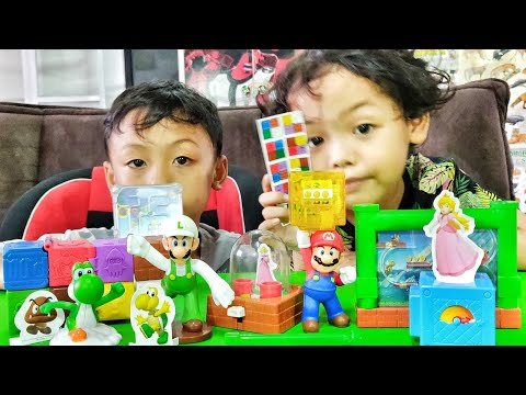 Unboxing Mainan Super Mario dari Happy Meals McDonald's