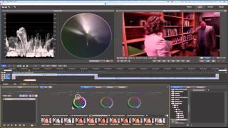 Color Correction Tutorial SpeedGrade Adobe