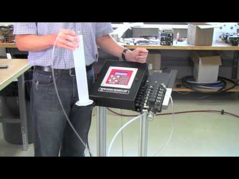Perform a Flow Test with SPR-2000