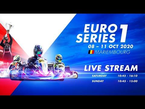 IAME Euro Series 2020 Mariembourg Belgium Saturday Live Stream