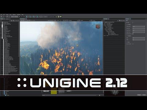 Unigine 2.12 Released