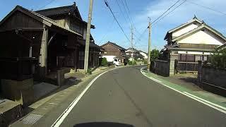 レトロな街並みが続く街道鳥取県;赤崎〜由良