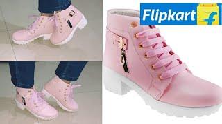 Unboxing Flipkart Heel Boot/ Affordable Price Boot