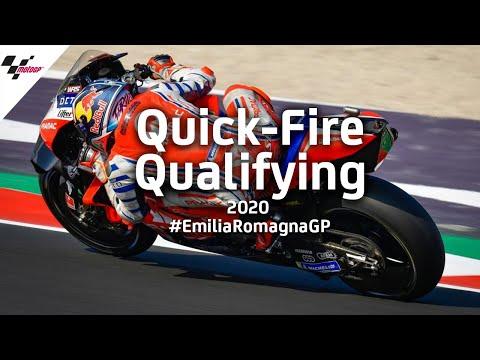 MotoGP ミサノサーキット(エミリア・ロマーニャGP)の気になる予選シーンを集めたハイライト動画