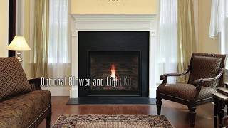 Tahoe Premium Clean-Face Direct-Vent Traditional Fireplaces