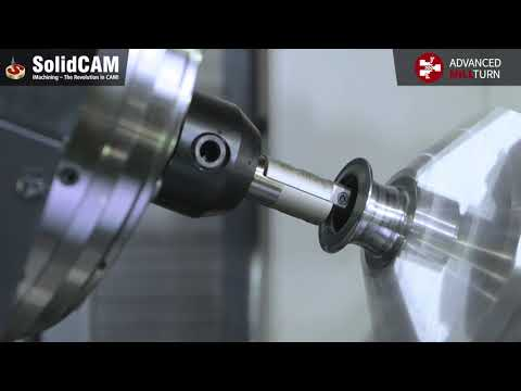 Advanced MillTurn | Manufacturing of a Fishing Reel Spool with Synchronized Machining