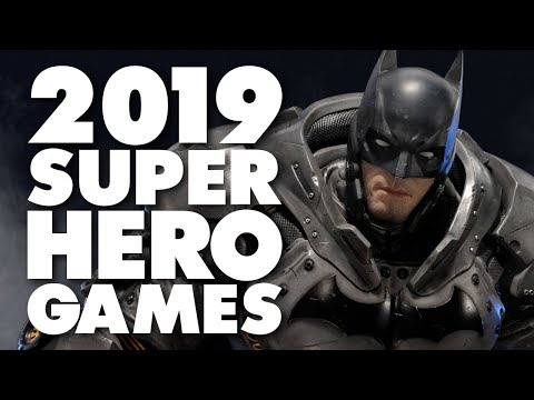 Every Upcoming Marvel and DC Game 2019