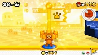 Super Mario 3D Land - Special 8-Crown (Final Level)