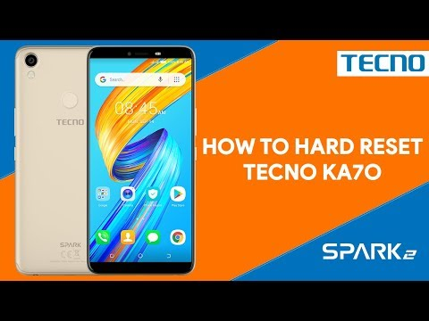 How To Hard Reset Tecno Spark 2 KA7O - [romshillzz]