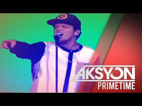 [News5]  Bruno Mars in Manila