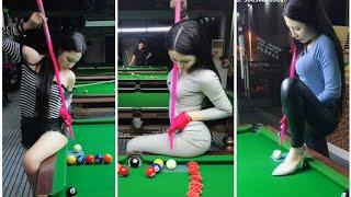 [ TikTok ] Bi-a nghệ thuật đỉnh cao ❤ POOT TRICK TOP, she is the best billiard player on the ❤