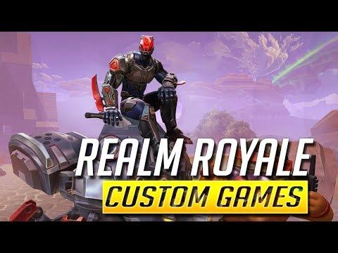 Live  | 🐔 Realm Royale - Custom Games - Abo zocken 🐔 | deutsch german | Livestream Facecam | McDev