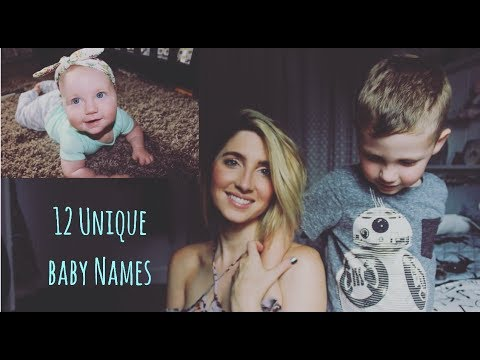 12 Unique Baby Names With Meaning