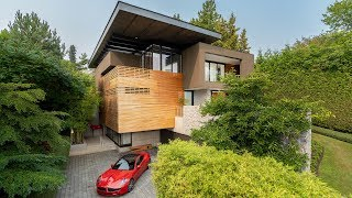 Living amidst natural beauty – inside and out.  Shaughnessy Neighbourhood, Vancouver West