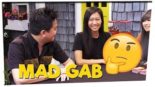 Say It With An Asian Accent!   Mad Gab ft. Mike Bow and Leenda D