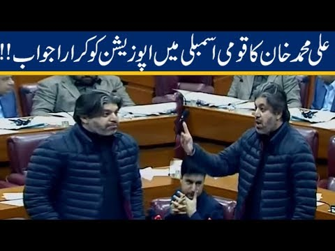 Ali Muhammad Khan Great Response To Opposition In National Assembly