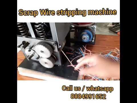 Scrap Wire Stripping Machine