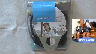 Sennheiser PC 131 Headset, unboxing, HD, German