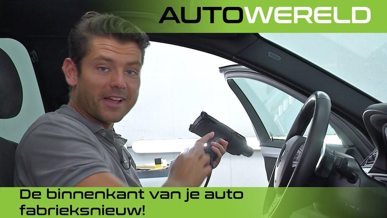 Hoe maak je de binnenkant van je auto fabrieksnieuw?