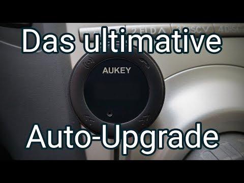 Wie verbindet man ein Handy mit dem Auto? Das Upgrade fürs Auto mit dem Aukey FM Transmitter