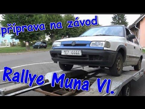 Event-VLOG #101 - Naše příprava na Rallye Muna VI.