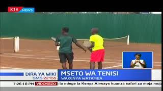 Timu ya Kenya yabombea katika mashindano ya tenisi