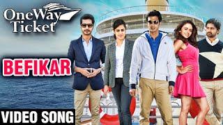 BEFIKAR | Video Song | ONE WAY TICKET | Gashmeer Mahajani, Amruta Khanvilkar, Shashank Ketkar