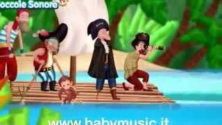 4 PIRATI NEL MAR DEI SARGASSI- canzoni per bambini