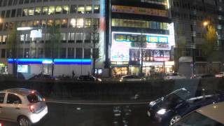 2015-04-18 Timelapse - bus into Tokyo