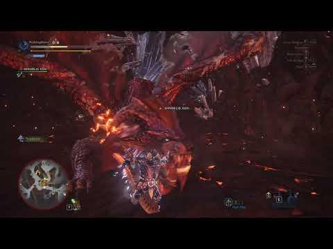 Monster Hunter World Sakura Long Sword Vs Arch-Tempered Teostra 77
